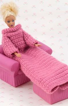 Doll Snuggle Wrap Crochet Pattern