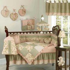 crib bedding, color, babi crib, nurseri, baby cribs