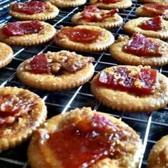 "Bacon Crackers | ""Couldn't be easier and tastes AMAZING! I have yet to make enough to have a single cracker left.. They just go too fast!"""