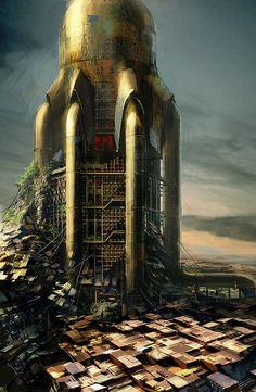 Watertank  Image by Daniel Dociu.  Guild Wars