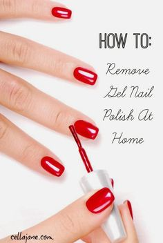 How To Remove Shellac Nail Polish (at home without damaging your nails)