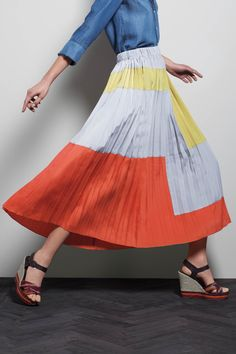 skirt by anthropologie