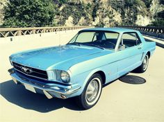 1965 Ford Mustang restored to exact factory new condition.