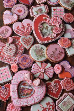 Valentine Volcano of cookies!