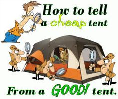 What Makes a Good Camping Tent Good -Camping tent features you should look for.