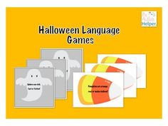Halloween Language Games - Real or Make Believe? & Fact or Fiction?