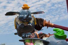 Dumbo ride, Walt Disney World