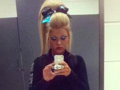 Cheerleading Hair