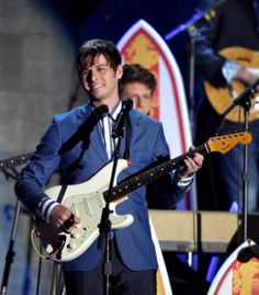 Mark Foster of Foster the People performs at the 54th Annual GRAMMY Awards!