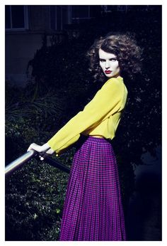 Julia Field Brings 50s-Esque Fierceness to Tush Magazine trendhunter.com