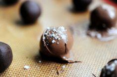 Chocolate Truffles with Sea Salt | The Pioneer Woman Cooks | Ree Drummond