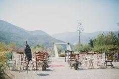 Ojai mountains ceremony spot