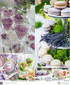 desserts, dessert tables, galleries, inspiration, tiered cakes, lavend, flower photography, parti, macaroons