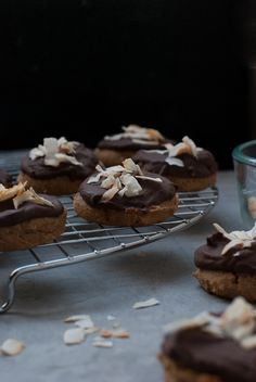 Paleo Almond Joy Cookies PineappleandCoconut.com