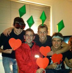 The Sims Group costume idea! Love it. I need to do this.