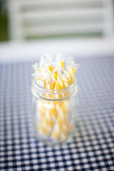 get candy sticks in wedding colors