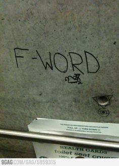 Canadian graffiti at its worst