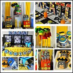 batman party   Batman Party Ideas - Decorations, Invitations, Games & Party Food . A ...