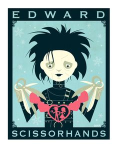 Edward Scissorhands.