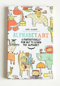 ABC Cards Alphabet Art