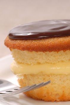 Boston Creme Cupcakes Dessert Recipe