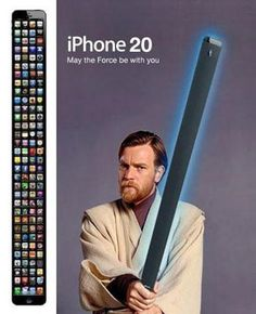 Apple's future!  ... iPhone 20 ... accepting pre-orders in your dreams  ;-D