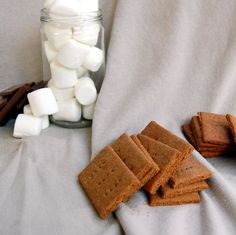 make your own Graham Crackers without that high-fructose corn syrup