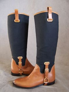 ralph lauren riding boots...I need these.