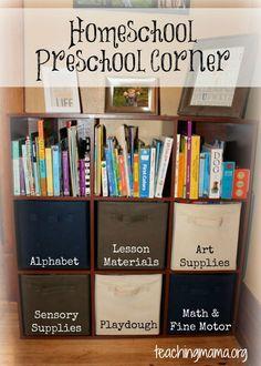 Home Preschool Ideas!