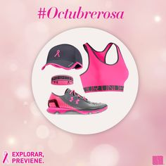 Apoyemos a la Lucha contra el Cáncer de Mama, te invitamos a conocer nuestros productos rosas y ejercítate con causa. http://liv.ctx.ly/1wzox  #OctubreRosa #LuchemosJuntas #PinkRibbons
