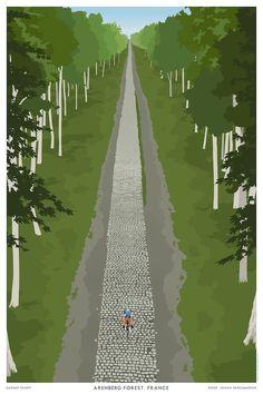 Paris Roubaix LTD Poster