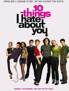Oh how I miss Heath Ledger! 10 things i hate about you
