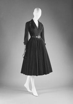 Cocktail dress, Dior 1950-51