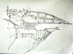 Airship Sketch