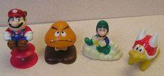McDonald's Super Mario Bros. 3 Happy Meal Toys, 1990