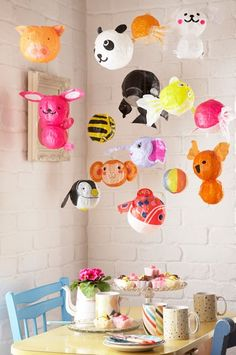 love paper balloons