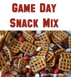 Game Day Snack Mix