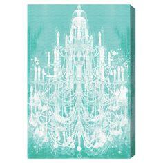 Privee Diamonds Mint Canvas Print