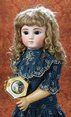 "Beautiful French Bisque Bebe Steiner,Series C,with Signed Steiner Early Body 23"" (58 cm.)"