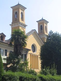 Waldensians church, Torre Pellice, Italy