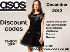 5 new promo codes for ASOS