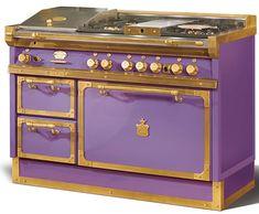 custom colors oven range... amazing