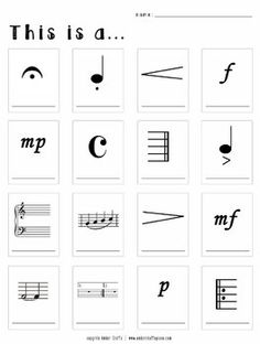 Free Music Symbols Quiz - Level 2 #musictheory   #pianolessons   #musicquiz