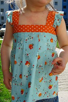 """made by rae """"spring ruffle top"""""""
