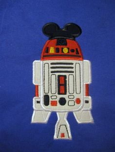 Disney R2-D2  Mickey Star Wars Custom Personalized T-Shirt  Youth Sizes Extra Small - Adult XL. $25.00, via Etsy.