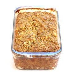 Savory Paleo Bread (grain-free, gluten-free, sugar-free, dairy-free)