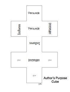 Author's Purpose Dice!