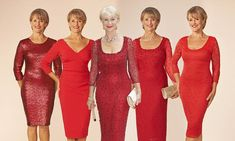 The dress that can make ANY middle-aged woman look drop-dead gorgeous: Helen Mirren sparkled in it this week. So how DOES it manage to disguise every lump and bump?
