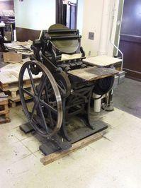 Antique Letter Press