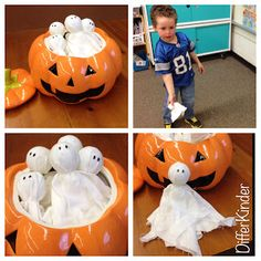A Differentiated Kindergarten: Ghostly Sight Word Practice Differentiated Kinder Style!